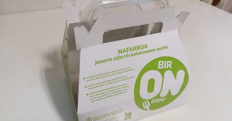 Campaña contra el desperdicio alimentario en navarra